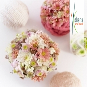 Bolas de flores