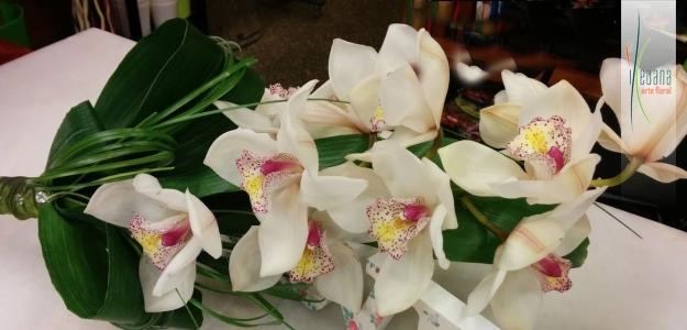 Centro de flor variada