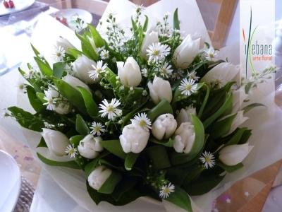 Centro de tulipanes