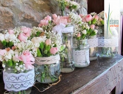 Centros  flor variada