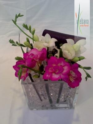 Flores en cristal