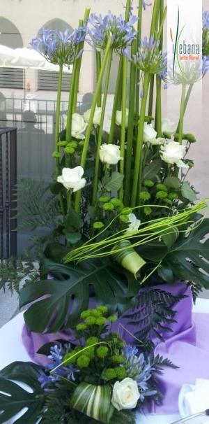 Centro flor variada