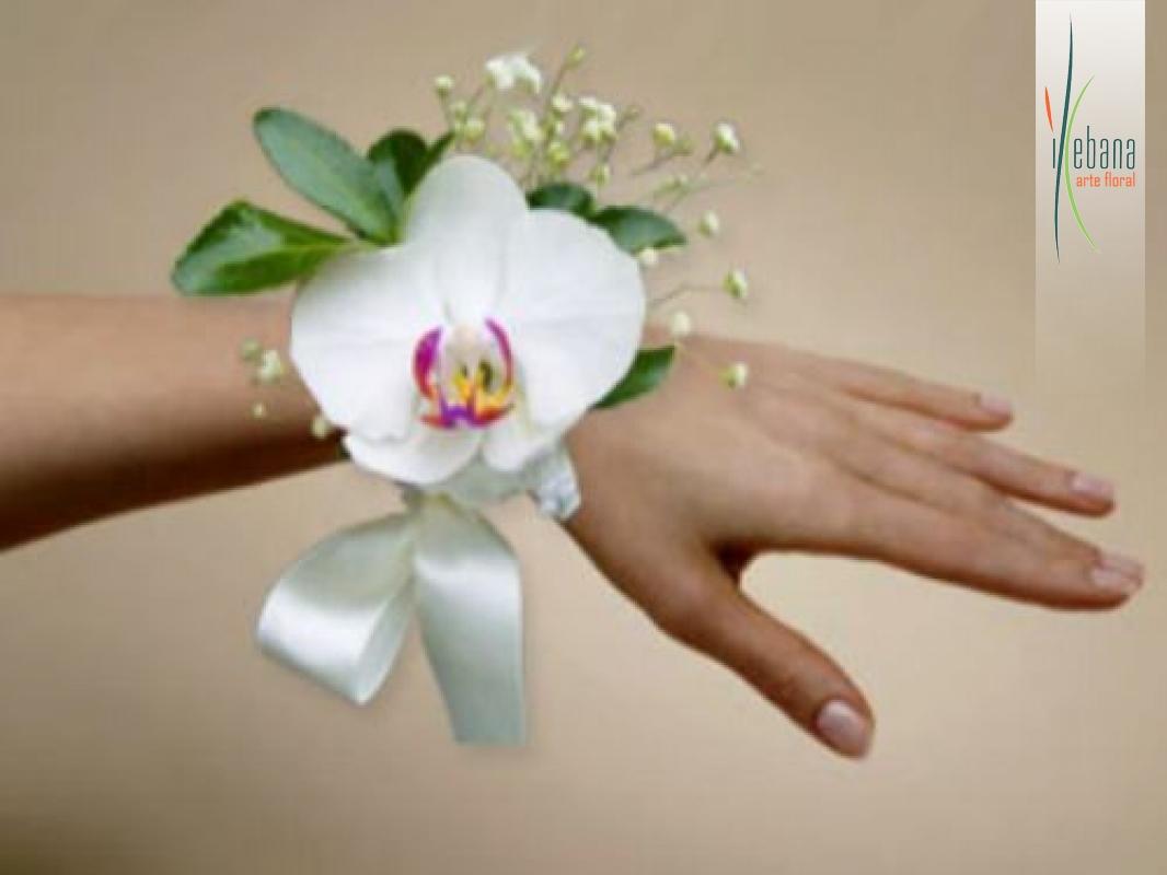 Pulsera de flor